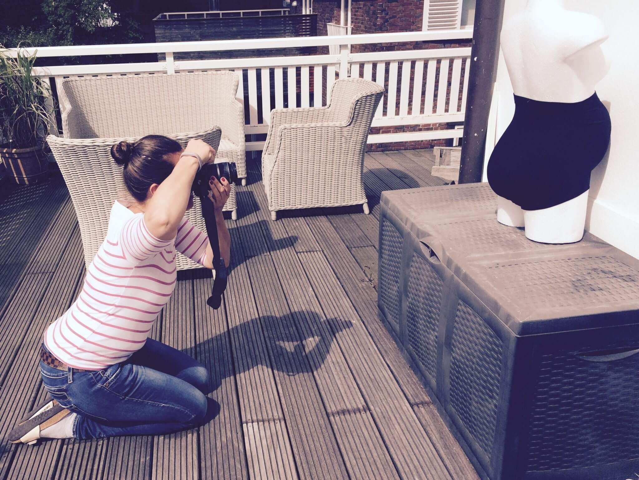 Fotoshooting mit Molly
